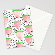 Watermelon Print II Stationery Cards