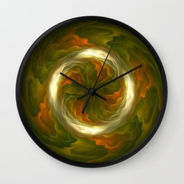 Introverted soul Wall Clock