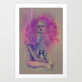 violaceous  Art Print