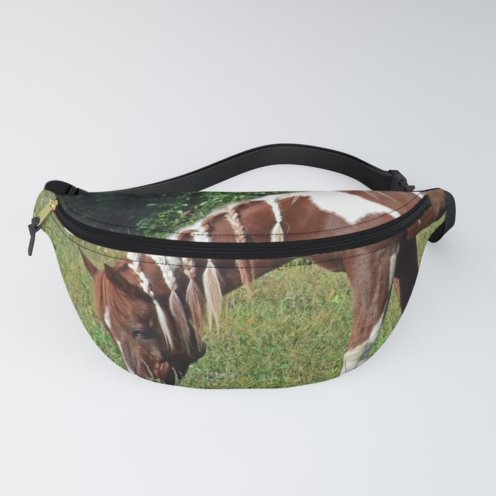 Braided Paint Fanny Pack