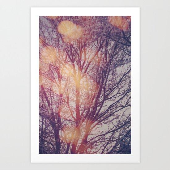 All the pretty lights (1) Art Print