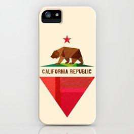California 2 (rectangular version) iPhone Case