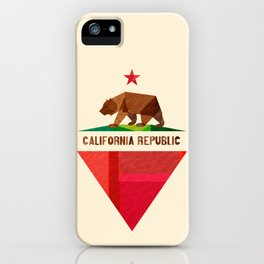 California 2 (rectangular version) iPhone Case