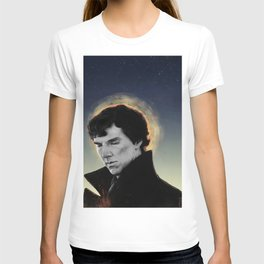 racing mind & human heart - Sherlock Holmes T-shirt