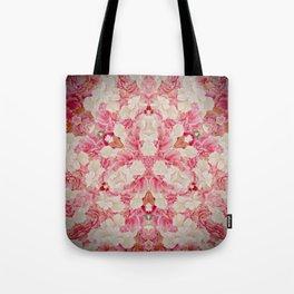 Pink and Cream Tote Bag