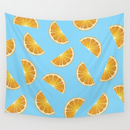 Oranges Wall Tapestry