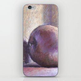 Lonely apple iPhone Skin