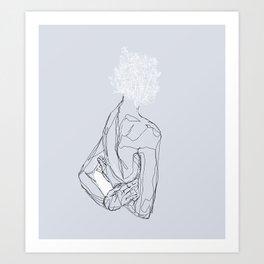 Floral Minded Art Print