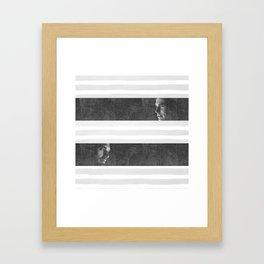 Steve & Bucky Framed Art Print