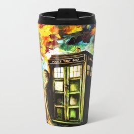 Time Lord Metal Travel Mug
