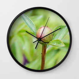 A little bud Wall Clock