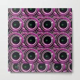 Circle design number * Metal Print