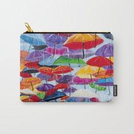Diane L - Sous la pluie Carry-All Pouch