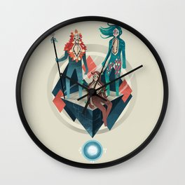 The Guardians Wall Clock