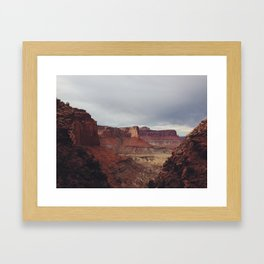 False Kiva, Canyonlands, UT Framed Art Print