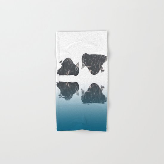 crow-182 Hand & Bath Towel