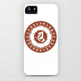 Kobodaishi Sanskrit character iPhone Case