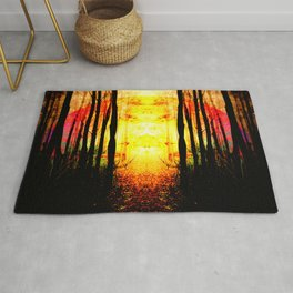 Path To Imagination Golden Rug