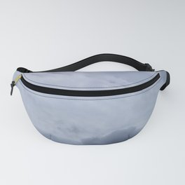 Contrasted Clouds Fanny Pack