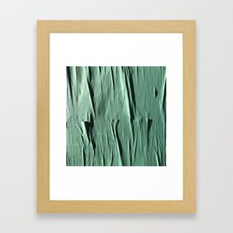 NYC Walls (zelen v.2) Framed Art Print