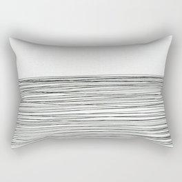 Water -minimalist line drawing Rectangular Pillow