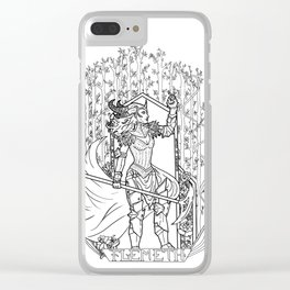 Witch of the Wilds Clear iPhone Case