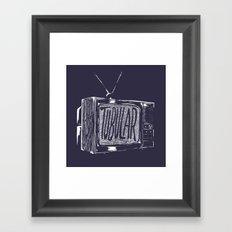 tubular Framed Art Print