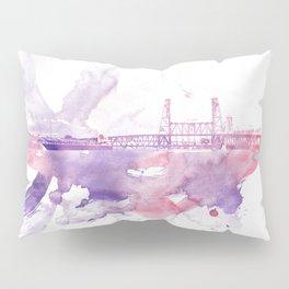 PDX watercolor 1 Pillow Sham