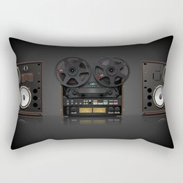 Open Reel 769 Rectangular Pillow