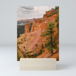 Beautiful Agua Canyon Landscape at Bryce Canyon National Park Mini Art Print