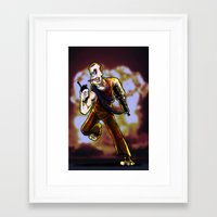 die hard Framed Art Prints featuring Hard To Die by Eliseu Miranda