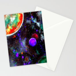 Intense Galaxy Stationery Cards