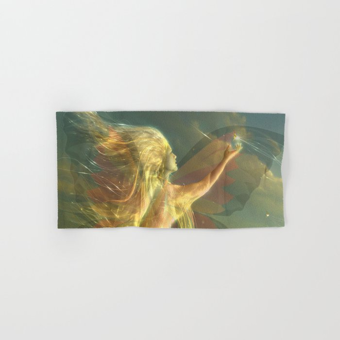 buterfly Hand & Bath Towel