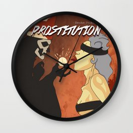 Prostitutions Wall Clock