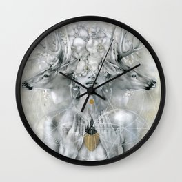 Compassion (Blessed Are The Meek) Wall Clock