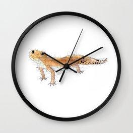 Pumpkin Leopard Gecko Wall Clock