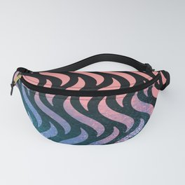 Wave Pattern Fanny Pack