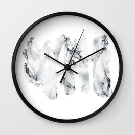 Marble stains Wall Clock