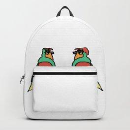 Bird couple Backpack