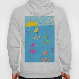 1234 sail away Hoody