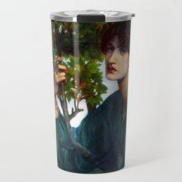 "Dante Gabriel Rossetti ""The Day Dream"" Travel Mug"