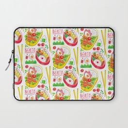 Japanese Bento Rice Lunch Box with Chopsticks & Onigiri Laptop Sleeve