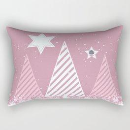 Stars forest Rectangular Pillow