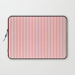 Thin Red Lines Vertical Laptop Sleeve