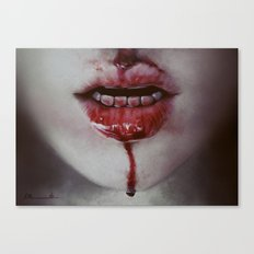 Blooood Canvas Print