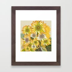 van Gogh sunflowers 2 Framed Art Print
