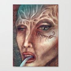 facial Canvas Print