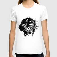 lions T-shirts featuring Proud Lions by Harry Martin