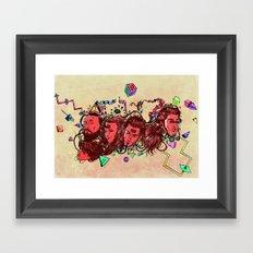 A New Year Framed Art Print