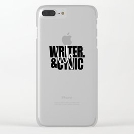 WF - Writer & Cynic Clear iPhone Case